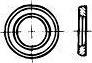 Podložka kruhová plochá se zkosením pro ocelové konstrukce DIN 6916 ocel 13